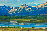 Canadian Rocky Mountains , Waterton Lakes  National Park, Alberta, Canada