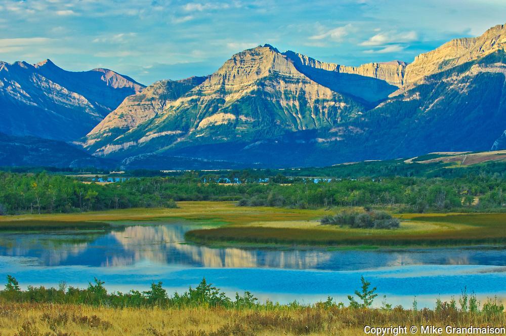 Canadian Rocky Mountains , Waterton Lakes  National Park, Alberta, Canada