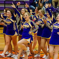 01-30-15 Berryville Cheerleaders Halftime Show