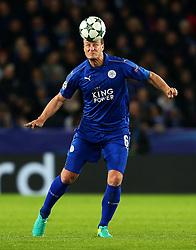 Robert Huth of Leicester City  - Mandatory by-line: Matt McNulty/JMP - 22/11/2016 - FOOTBALL - King Power Stadium - Leicester, England - Leicester City v Club Brugge - UEFA Champions League