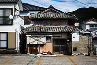 A Japanese home in the small seaside town of Kitsu in Amakusa, Japan.