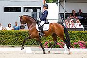 Adelinde Cornelissen - Henkie<br /> Longines FEI/WBFSH World Breeding Dressage Championships for Young Horses 2016<br /> © DigiShots