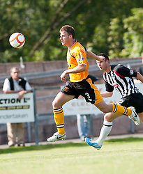 Annan Athletic's Michael McGowan..Annan Athletic 1v 2 Dunfermline, Scottish Communities League Cup 1st round, 30th July 2011..©Pic : Michael Schofield.