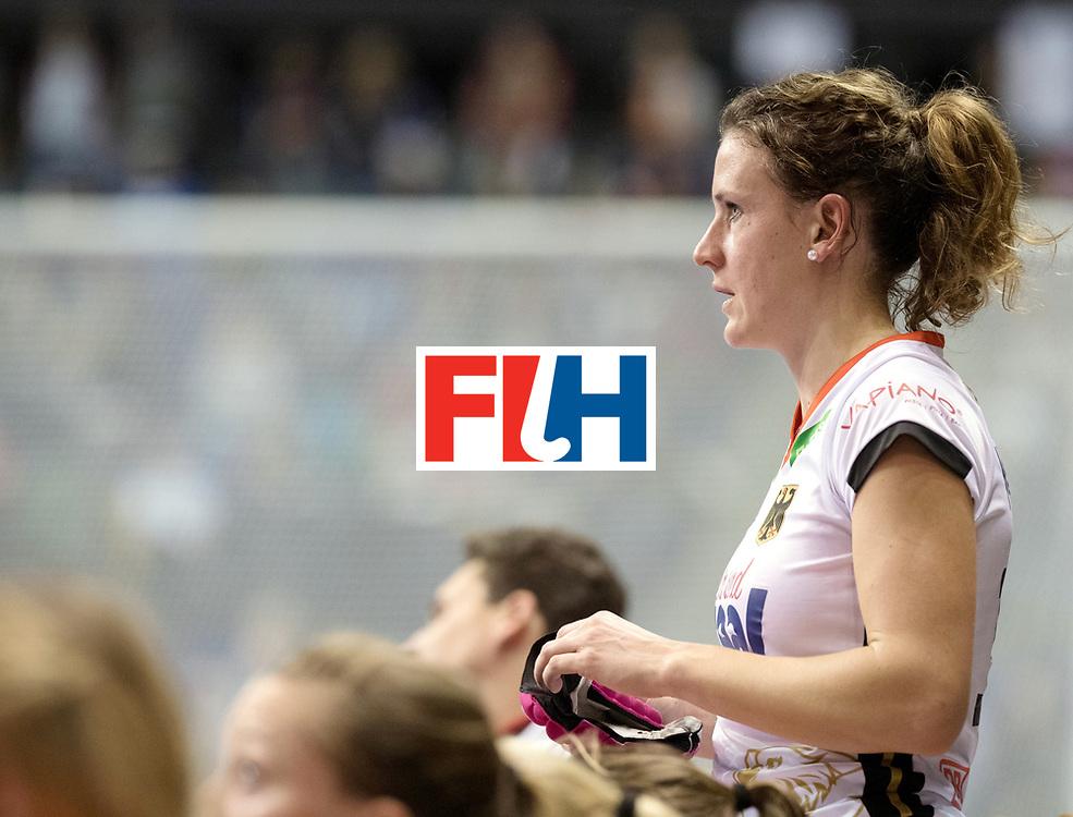 BERLIN - Indoor Hockey World Cup<br /> SF2 Belarus - Germany<br /> foto: Janne M&uuml;ller <br /> WORLDSPORTPICS COPYRIGHT FRANK UIJLENBROEK