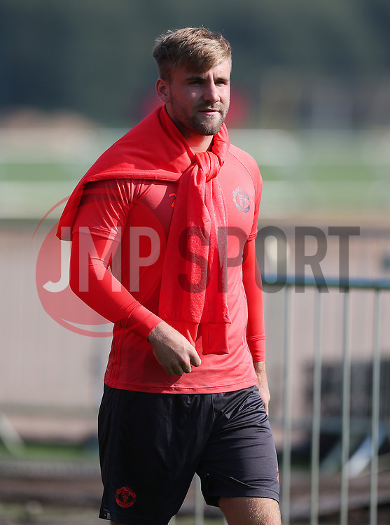 Luke Shaw of Manchester United  - Mandatory by-line: Matt McNulty/JMP - 14/09/2016 - FOOTBALL - Manchester United - Training session ahead of Europa League Group A match against Feyenoord