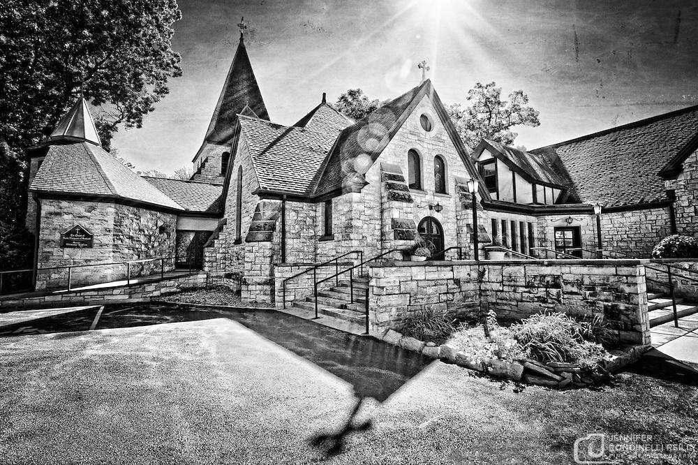 Photo of Zion Episcopal Church in Oconomowoc, WI.