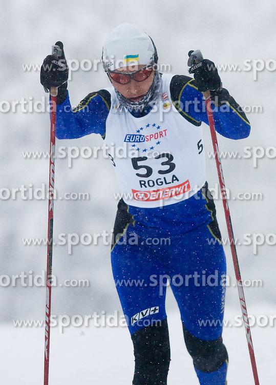 Vita Jakimchuk of Ukraine at Ladies 1.4 km Free Sprint Competition of Viessmann Cross Country FIS World Cup Rogla 2009, on December 19, 2009, in Rogla, Slovenia. (Photo by Vid Ponikvar / Sportida)
