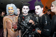 JACK GUINNESS; HENRY HOLLAND; TOM GIDDINS, Browns Focus Halloween party. Shepherds Bush pavilion. Shepherds Bush. London. 30 October 2009