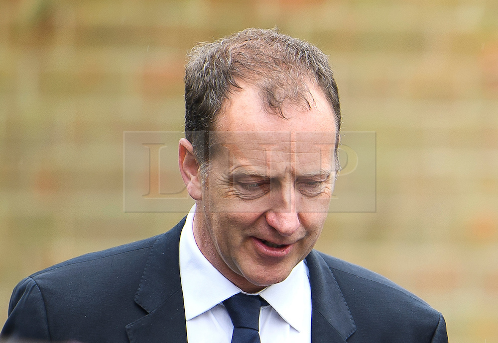 © London News Pictures. 11/05/2016. London, UK. TOM BALDWIN, former advisor to Ed Miliband, attends the funeral of Maurice Peston, Baron Peston at Golders Green, north London. Baron Peston, who died  in April aged 85,  was the father of journalist and ITV News Political Editor, Robert Peston. Photo credit: Ben Cawthra/LNP