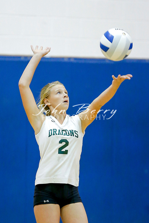 September 09, 2014.  <br /> MCHS JV Volleyball vs William Monroe.  Madison loses to Monroe 2-1 (22-25, 25-21, 9-15).