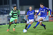Forest Green Rovers Keanu Marsh-Brown(7) runs forward during the Vanarama National League match between Eastleigh and Forest Green Rovers at Arena Stadium, Eastleigh, United Kingdom on 10 January 2017. Photo by Shane Healey.