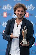Giffoni Valle Piana (SA) 16.07.2012 - Giffoni Film Festival 2012. Photocall di  Leonardo Pieraccioni con il premio del Festival. Foto Giovanni Marino