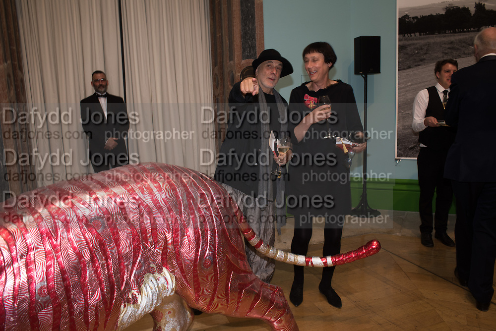 RON ARAD, CORNELIA PARKER, 2019 Royal Academy Annual dinner, Piccadilly, London.  3 June 2019