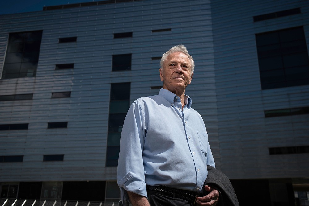 MONTGOMERY, AL -- 5/25/17 -- Even at age 80, Morris Dees still comes into the office daily. The attorney has made a career taking down racist organizations and hate groups over the years, and has created an infrastructure to continue that work well into the future. Dees is pictured in front of SPLC headquarters.<br /> Civil Rights attorney Morris Dees co-founded the Southern Poverty Law Center in 1971. The group has taken on the Ku Klux Klan and fought for against hate for decades, but is now facing criticism that it has labeled some groups without just cause..&hellip;by Andr&eacute; Chung #_AC29955
