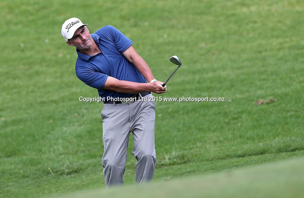Australia`s Peter Millar in the Holden NZ PGA Championship, Remuera Golf Club, Auckland, New Zealand, Saturday, March 07, 2015. Copyright photo: David Rowland/www.photosport.co.nz