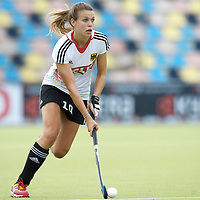 MONCHENGLADBACH - Junior World Cup<br /> Pool D: Germany - Spain<br /> photo: Anne Schroeder.<br /> COPYRIGHT  FFU PRESS AGENCY/ FRANK UIJLENBROEK
