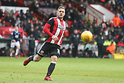 Billy Sharp of Sheffield United (10) during the EFL Sky Bet Championship match between Sheffield United and Nottingham Forest at Bramall Lane, Sheffield, England on 17 March 2018. Picture by Mick Haynes.