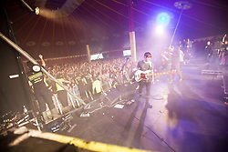 The View play the Clash Arena tent..Saturday at Rockness 2012..©Michael Schofield..