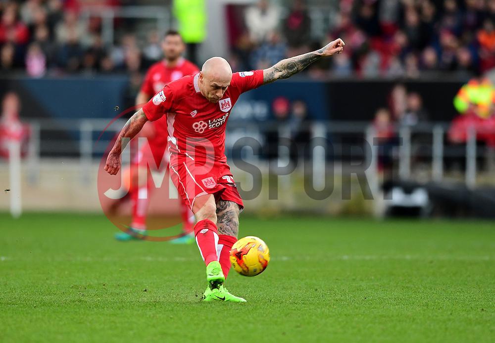 David Cotterill of Bristol City shoots  - Mandatory by-line: Joe Meredith/JMP - 04/02/2017 - FOOTBALL - Ashton Gate - Bristol, England - Bristol City v Rotherham United - Sky Bet Championship