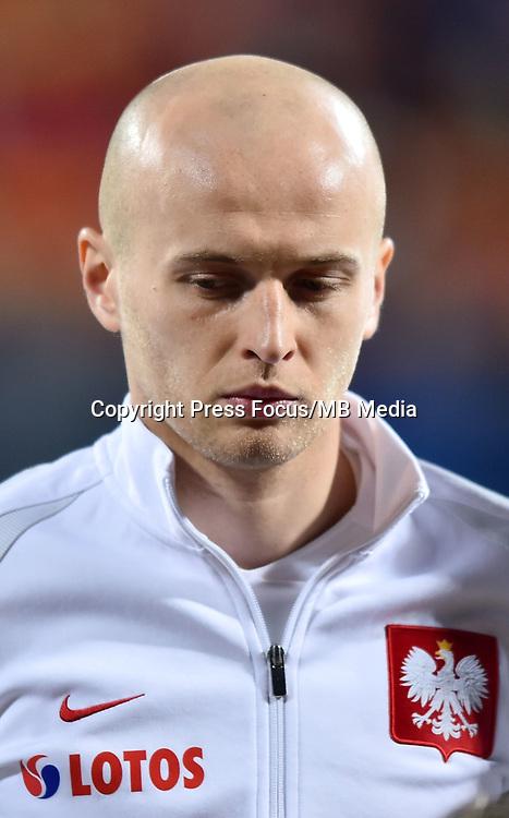 2017.03.26 Podgorica<br /> Pilka nozna kadra reprezentacja<br /> Eliminacje Mistrzostw Swiata Rosja 2018<br /> Czarnogora - Polska<br /> N/z Michal Pazdan<br /> Foto Lukasz Laskowski / PressFocus<br /> <br /> 2017.03.26 Podgorica<br /> Football <br /> FIFA 2018 World Cup Qualifying game between Montenegro and Poland<br /> Michal Pazdan<br /> Credit: Lukasz Laskowski / PressFocus