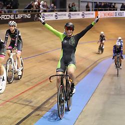30-12-2017: Wielrennen: NK Baan: Alkmaar <br /> Kirsten Wild pakt de titel op de scratch