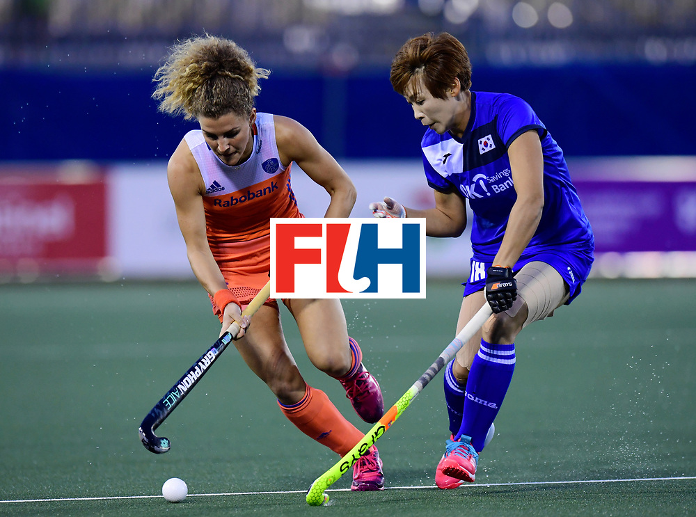 AUCKLAND - Sentinel Hockey World League final women<br /> Match id:<br /> 18 NED v KOR (Semi Final)<br /> Foto: Maria Verschoor <br /> WORLDSPORTPICS COPYRIGHT FRANK UIJLENBROEK