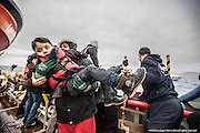 "9th of Jan 2016<br /> <br /> Dramatic rescues as refugee deaths in Aegean reach record high<br /> <br /> A young Syrian child is lifted to safety from an overloaded open boat carrying 55 migrants. A distress call had been made from the boat to say they had lost engine power and were drifting in the heavy swell. The SAR team launched their fast rescue craft and brought the migrant boat next to the MOAS mothership, Responder. It was an extremely challenging rescue because of the heavy sea swell, but all the migrants were safely brought aboard.<br /> <br /> ATHAGONISI - Search and rescue charity Migrant Offshore Aid Station (MOAS) has assisted hundreds of refugees from hostile seas between Turkey and Greece since it began operating in the region just before Christmas.<br />  <br /> The MOAS crew has witnessed shocking scenes of life and death, having led complex deep water and nearshore rescues over the past four weeks. The human toll has been described as ""distressing"" and ""desperate"" by reporters who have been embedded with MOAS.<br />  <br /> MOAS, which saved almost 12,000 refugees from the Mediterranean Sea since 2014, expanded its operations to the Aegean Sea thanks to thousands of donations that reached the organisation after the horrific death of Alan Kurdi, a Syrian toddler who was photographed washed ashore on a Turkish beach last September.<br />  <br /> The charity is operating off the Greek island of Agathonisi from a 51-metre vessel equipped with two fast rescue launches named after Alan and his brother Galip, who also died in September's shipwreck.<br />  <br /> According to the International Organisation for Migration (IOM), 2016 appears to be a record year for both refugee arrivals and deaths at sea. In the first three weeks, fatalities have already reached 113, which is more than the past two Januaries combined. In the same three-week period, some 37,000 migrants and refugees have reached Italy and Greece by sea, which is 10 times the total of 2015.<br />  <br /> ""What we are witnessing in the Aegean Sea is even more horrendous than"