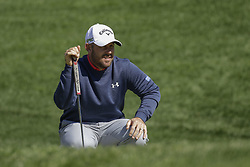 October 21, 2017 - Seogwipo, Jeju Island, South Korea - Scott Brown of USA check for putt on the 10th hole during an PGA TOUR CJ CUP NINE BRIDGE DAY 3 at Nine Bridge CC in Jeju Island, South Korea. (Credit Image: © Ryu Seung Il via ZUMA Wire)