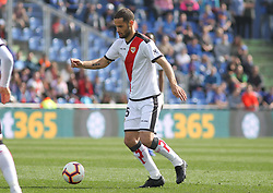 February 23, 2019 - Getafe, Madrid, Spain - Mario Suarez of Rayo Vallecano in action during La Liga Spanish championship, football match between Getafe and Rayo Vallecano, February 23th, in Coliseum Alfonso Perez in Getafe, Madrid, Spain. (Credit Image: © AFP7 via ZUMA Wire)