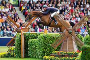 Thomas Voss - Carinjo 9<br /> World Equestrian Festival, CHIO Aachen 2012<br /> © DigiShots