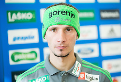 Robert Kranjec during press conference of Slovenian Nordic Ski Jumping team before new winter season 2015/16, on November 18, 2015 in Salon Gorenje, Ljubljana, Slovenia. Photo by Vid Ponikvar / Sportida