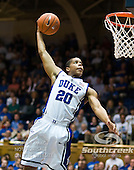 Duke vs Saint Augustine Exhibition mens Basketball 2010