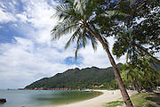 Langkawi. Berjaya Langkawi Resort seen from Mutiara Burau Bay Beach Resort.