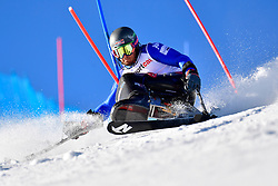 de SILVESTRO Rene', LW12-1, ITA, Slalom at the WPAS_2019 Alpine Skiing World Cup, La Molina, Spain