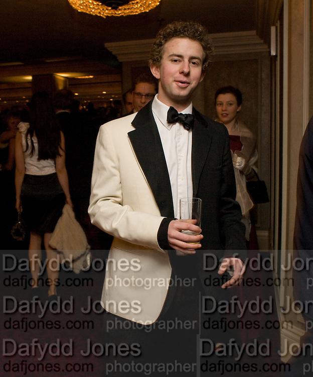 COSMO CARDOZO. The 30th White Knights charity  Ball.  Grosvenor House Hotel. Park Lane. London. 10 January 2009