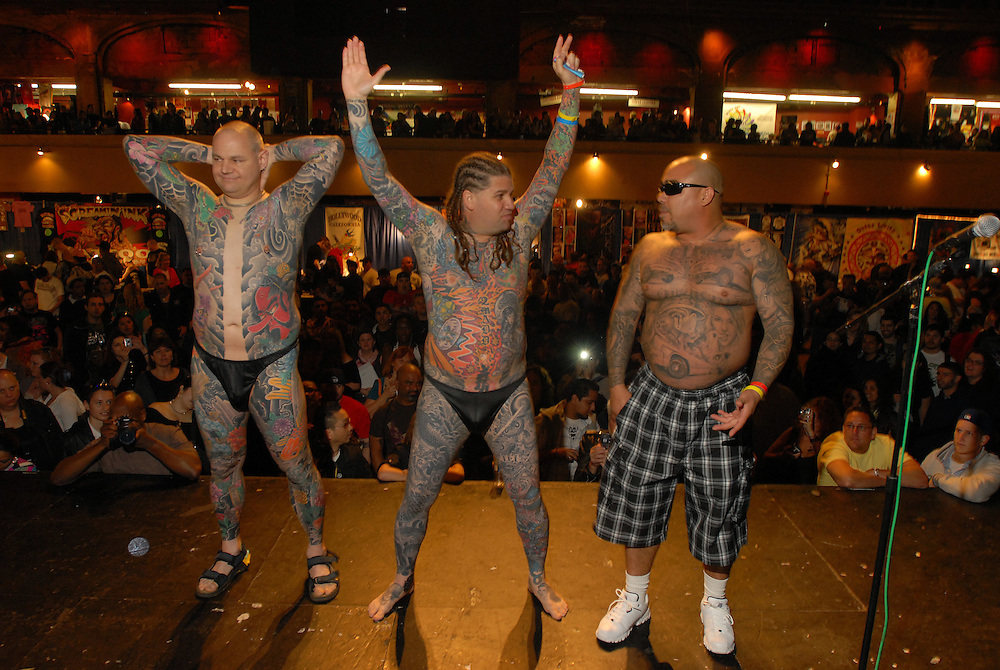 New York City Tattoo Convention 2009 at the Roseland Ballroom: What the hell is going on?