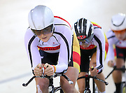 Southland's Kirstie James at the BikeNZ Elite & U19 Track National Championships, Avantidrome, Home of Cycling, Cambridge, New Zealand, Sunday, March 16, 2014. Credit: Dianne Manson
