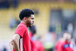 Jay Dasilva of Bristol City warms up - Mandatory by-line: Arron Gent/JMP - 23/02/2019 - FOOTBALL - Carrow Road - Norwich, England - Norwich City v Bristol City - Sky Bet Championship