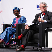 20160616 - Brussels , Belgium - 2016 June 16th - European Development Days - An economy for the 1 Percent - Winnie Byanyima , Executive Director , Oxfam International  and Philippe Orliange , Director for Strategy, Partnership and Communication Agence Française de Développement © European Union