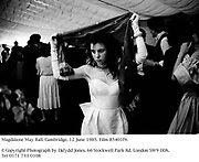 Magdalene May Ball. Cambridge. 12 June 1985. Film 85401f9.<br />