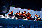 Momo sailing in the  Corfu Challenge, day one.