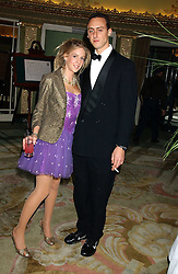 MISS LARA BOGLIONE and MR RAIMONDO GAETANI d'ARAGONA at the Chain of Hope 10th Anniversary Ball held at The Dorchester, Park Lane, London on 1st November 2005.<br /><br />NON EXCLUSIVE - WORLD RIGHTS