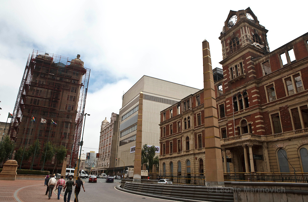 2 December 2009. The historic 1897 Rissik Street post office building in the Johannesburg CBD caught fire at about 21:00 on November 1 2009. The neglect of the four-storey post office goes back the same number of years, to 1996, when post office officials vacated the building. The historic post office is the second to oldest building in the inner city, dating back 112 years to 1897. It was declared a national monument or heritage site in 1978. The post office was designed by President Paul Kruger's architect, Sytze Wierda, and is the only example of his work in the city. A risk assessor has stated that the fire was probably started accidentally by people taking shelter inside the building.