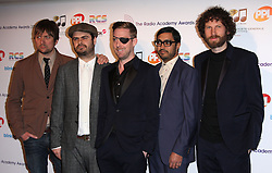 KAISER CHIEFS arrive for the Radio Academy Awards, London, United Kingdom. Monday, 12th May 2014. Picture by i-Images