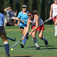 (Photograph by Bill Gerth for Max Preps)Gilroy vs Saratoga in a preseason field hockey game at Saratoga High School, Saratoga CA on 8/24/16.