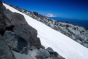 Ptarmigan Trail on Monitor Ridge on Way to Summit of Mt. St. Helens, Mt. St. Helens National Volcanic Monument, Washington, US