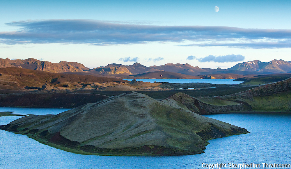 Veiðivötn, Rauðigígur og Litlisjór