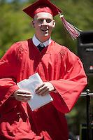 Laconia High School graduation June 9, 2012.