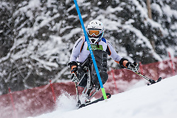 Nolte Thomas of Germany during Slalom race at 2019 World Para Alpine Skiing Championship, on January 23, 2019 in Kranjska Gora, Slovenia. Photo by Matic Ritonja / Sportida