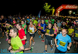 Lojze Grcman at 10th Nocna 10ka 2016, traditional run around Bled's lake, on July 09, 2016 in Bled,  Slovenia. Photo by Vid Ponikvar / Sportida